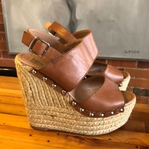 Steve Madden platform wedge sandals
